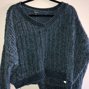 Wild fable chenille crop sweater